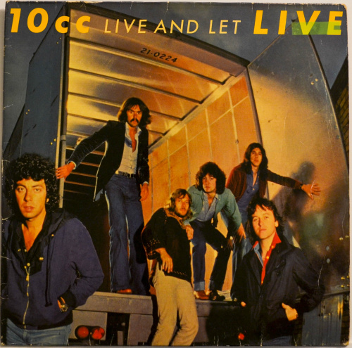 Live And Let Live 2LP, 1977
