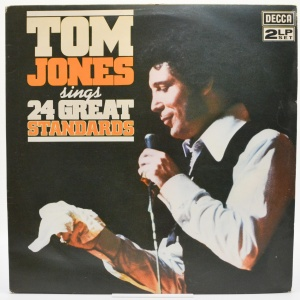 Tom Jones Sings 24 Great Standards (2LP, UK), 1976