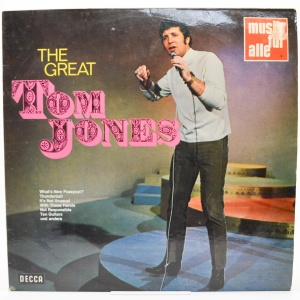 The Tenth Anniversary Album Of Tom Jones - 20 Greatest Hits (2LP), 1975
